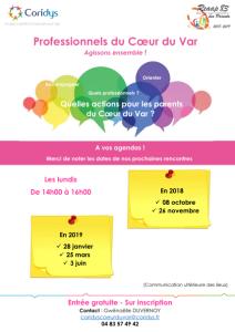 affiche rencontres intervenants reaap 2018-2019